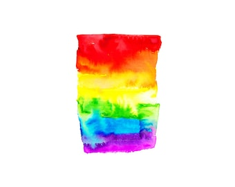 Rainbow.  Abstract Art.  Marriage Equality.