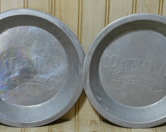 Aluminum Pie Pans Etsy
