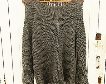 Easy  neck Pullover