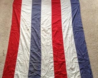 Antique American banner flag