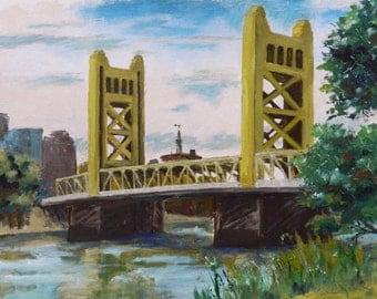 Tower Bridge - art print