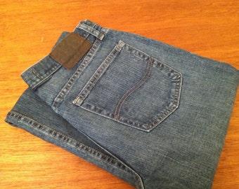Men's Lee Jeans Premium Select Relaxed Straight Leg W 33 X L 34 100% Cotton