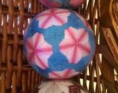 RESERVED FOR SAKURADORA47: Three sakura-themed temari