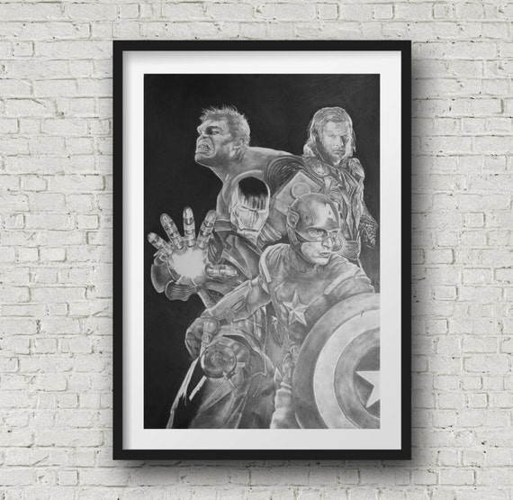 Avengers Pencil Drawing The Avengers Pencil Drawing