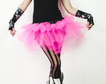 Hot Pink Tutu Adult Skirt Custom Catastrophes