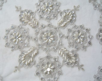Lace coffee table cloth/ethnic embroided tablecloth square
