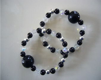 """Queasy Beads™ Motion Sickness Bracelets in """"Crystal Vision"""""""