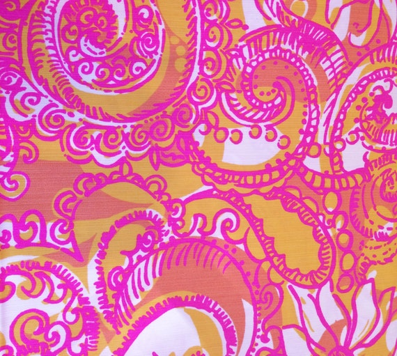 Lilly Pulitzer Fabric Sunshine Yellow Sea And Be By