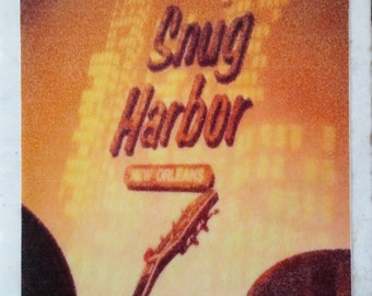 Snug Harbor Marigny Jazz Bar New Orleans Coaster