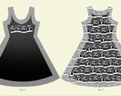 The Beatles Sleeveless Dress