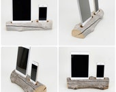 Driftwood Dock for a iPad Mini and iPhone