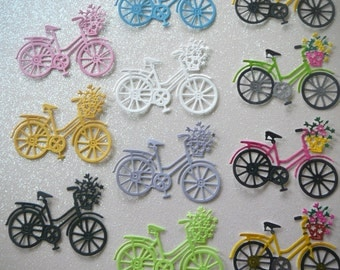 Bicycle Die Cut Embellishment for Scrapbooking, Card Making & Table Decorations