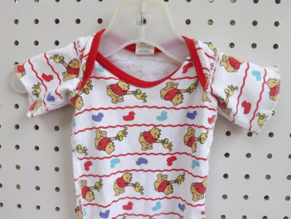 Winnie The Pooh. Vintage Baby Clothes. Disney.