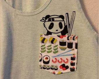 sushi pocket tank