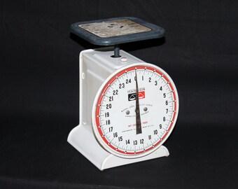 Vintage 1950s Hanson Model #2000, 25 Pound Kitchen Scale