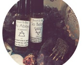 Solid Herbal Perfume //Air element // Earth element // Spirit // Essential Oil Perfume // Solid Scent // As Above, So Below