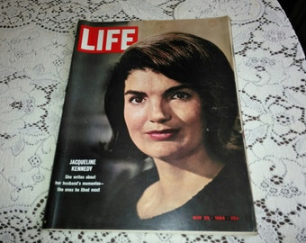 Jackie Kennedy Life Magazine May 29, 1964