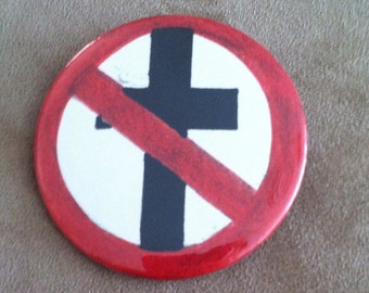 Bad Religion Pin Back Button