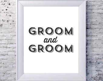 Groom and Groom