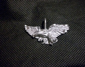 Vintage Diamond Cut Flying Eagle Charm / Pendant     # I I 9