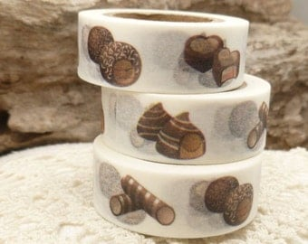 Confection Chocolate Candy Washi Tape - H769