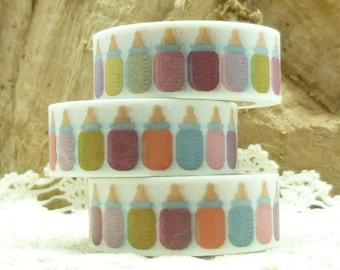 Colorful Baby Bottle Washi Tape - KK1951
