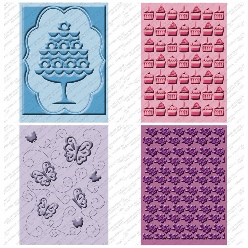 Cuttlebug once upon a princess embossing folder 4 design for Www cuttlebug crafts com