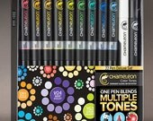 Chameleon Deluxe Alcohol Marker Set - 22 Markers with US **Priority Shipping Included**