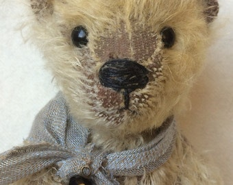 Mohair Teddy bear, made with lots of love