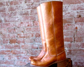 Frye Boots - Campus - Tall - Size 6 - Vintage - Knee High -