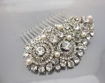 Wedding hair comb bridal headpiece bridal hair comb wedding haircomb bridal hair accessory wedding hair jewelry bridal accessory bridal comb