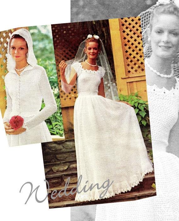 Crochet Pattern Crochet Wedding Dress Pattern Jacket