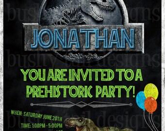 Prehistoric birthday Etsy