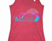 Women's I'm Swell Hawaii Screen Print Tank Top Racerback Surf Surfing