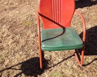 Vintage 1940 lawn chair
