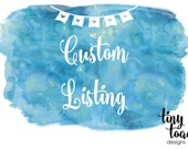Custom Listing - Custom Printing Thank You Cards for Monica D.