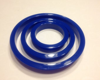set of 3 circle cookie cutter, 45 - 95 mm (R4)