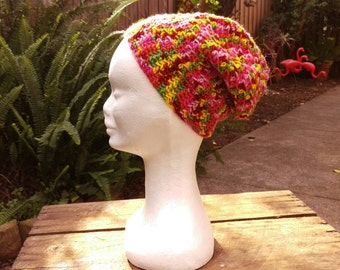 Children's Crochet Slouch Beanie