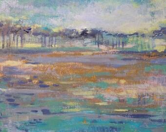 Santa Rosa Beach-- Impressionist Painting of landscape