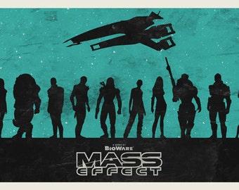 Mass Effect series poster