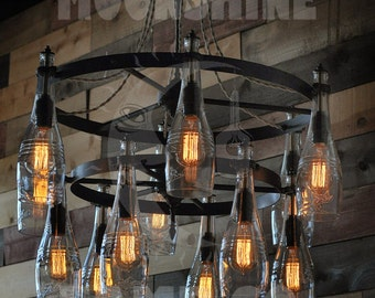 Sonoma - Bottle Lamp Tiered Chandelier