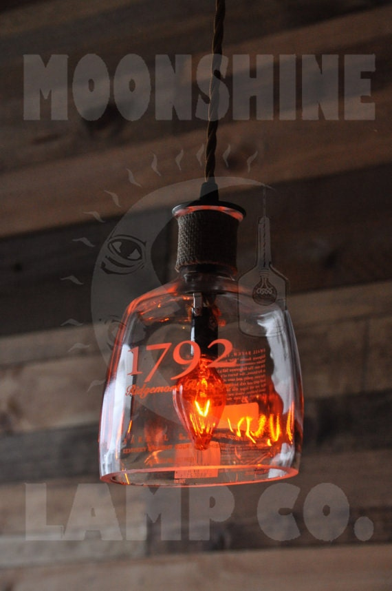 Recycled Bottle Lamp 1792 Hanging Pendant
