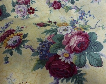 """34"""" of Gorgeous """"Paris Rose"""" Quilt Cotton Fabric by Lake House for Michael Miller Fabrics"""
