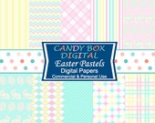 Easter Paper, Easter Digital, Easter Digital Scrapbook,  Easter Digital Paper, Easter Scrapbook - Commercial Use OK