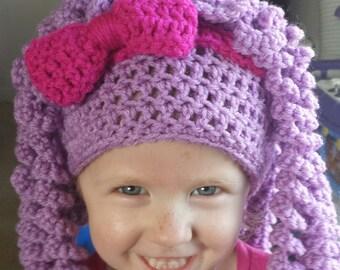 Free Crochet Pattern For Lalaloopsy Hat : Lalaloopsy Etsy