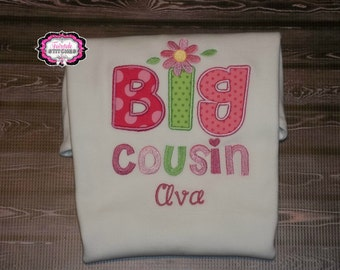 Cousin Shirt, Big Cousin Shirt, Little Cousin Shirt, Big Cousin, Little Cousin, Birth Announcement Shirt, Gender Reveal Shirt