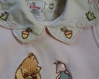Vintage Disney Winnie the Pooh Baby Dress