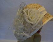 Bell Shaped Cloche Derby Hat / Tea Hat / Wedding Hat / Church Hat / Race Hat