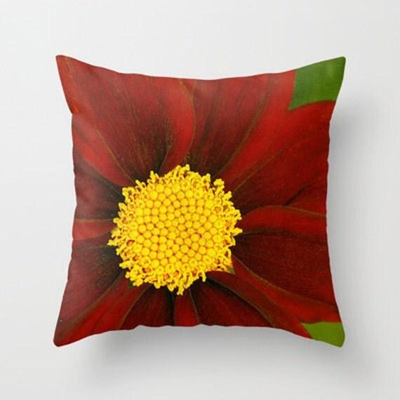 Mercury Rising Coreopsis, Decorative Throw Pillow, Throw Pillow, Outdoor Pillows, Photography, Flower, Garden, Pillow covers, Rustic Decor