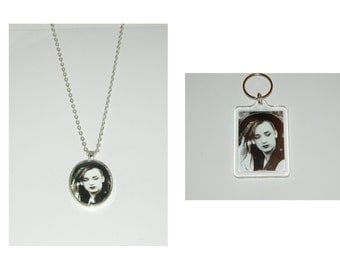 Culture Club Boy George Glass Pendant Necklace or Keychain